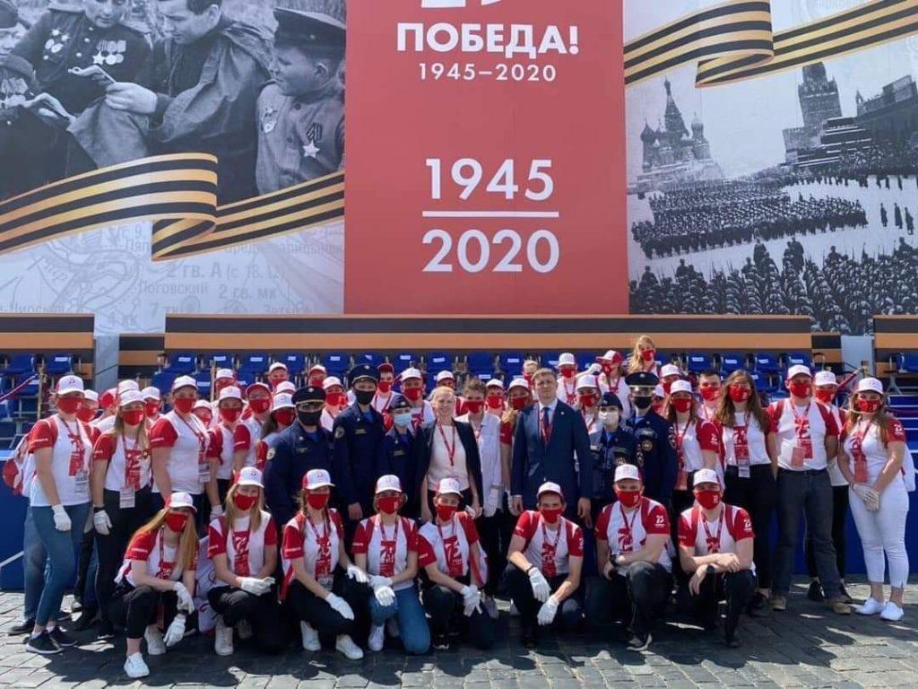 Студенты Дмитровского техникума  участвовали в организации Парада Победы